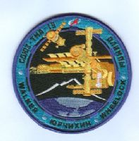 Soyuz TMA-19 Embroidered Mission Patch